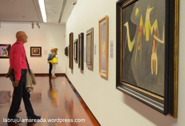 visita exposición Colección Abanca en Vigo
