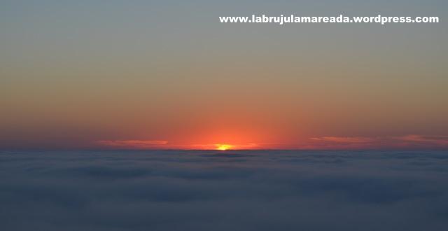 puesta de sol en Cano dos Mouros (Viladesuso-Oia)