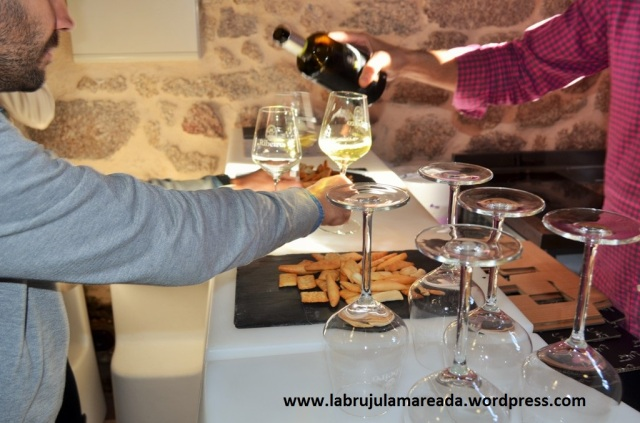 cata vino ribeiro Valdavia Cuñas Davia