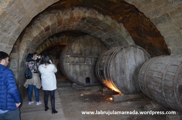 cubas vino rectoral Santo André Ribadavia