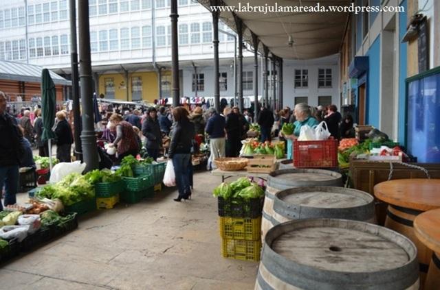 mercado de Avilés (Asturias)