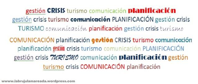 Nube de tags: crisis turismo comunicación