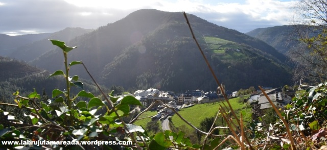 Vista de Taramundi. Asturias