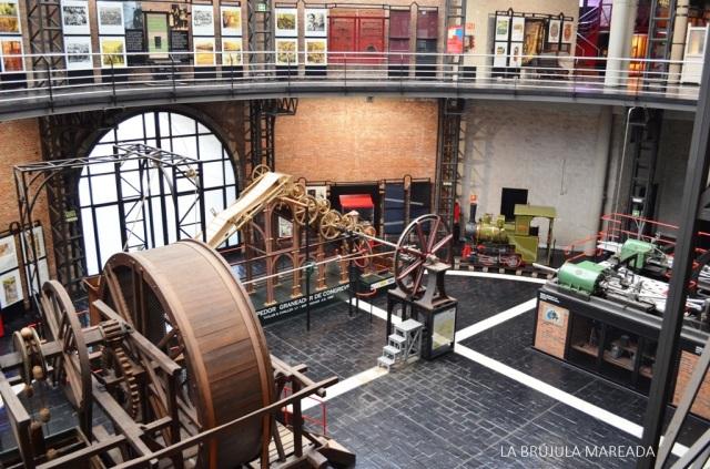 Vista general del Museo de la Minería y la Industria (MUMI) en El Entrego (Asturias).
