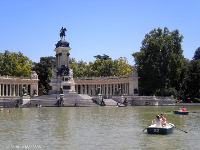 No me gusta viajar (El Retiro. Madrid)