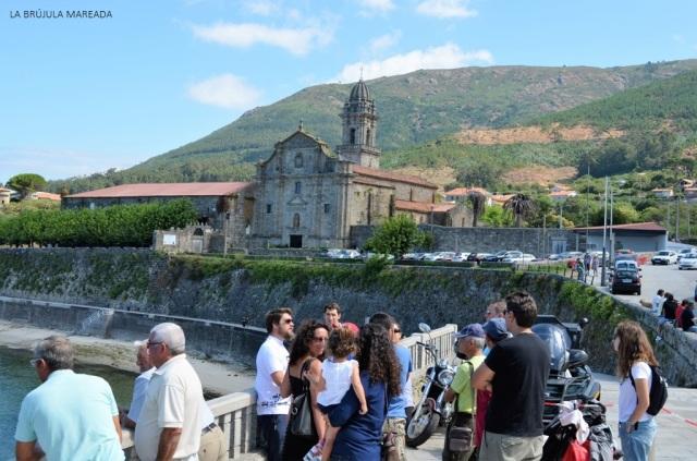 No me gusta viajar. Visita guiada en Oia (Galicia).