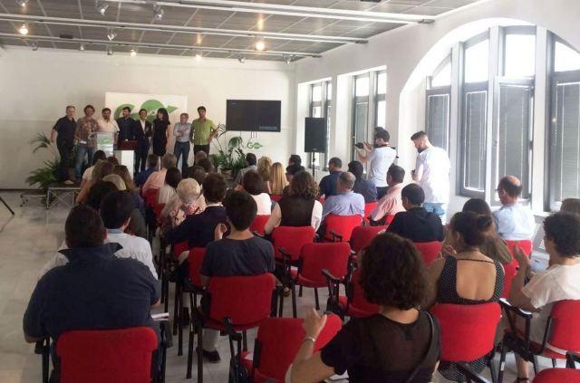 Presentación de proyectos del Coworking en Industrias Culturales de Paideia y EOI celebrado en Noia