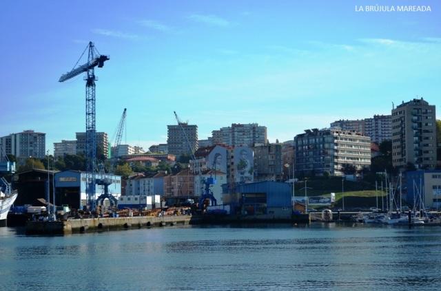 Ría de Vigo, turismo industrial