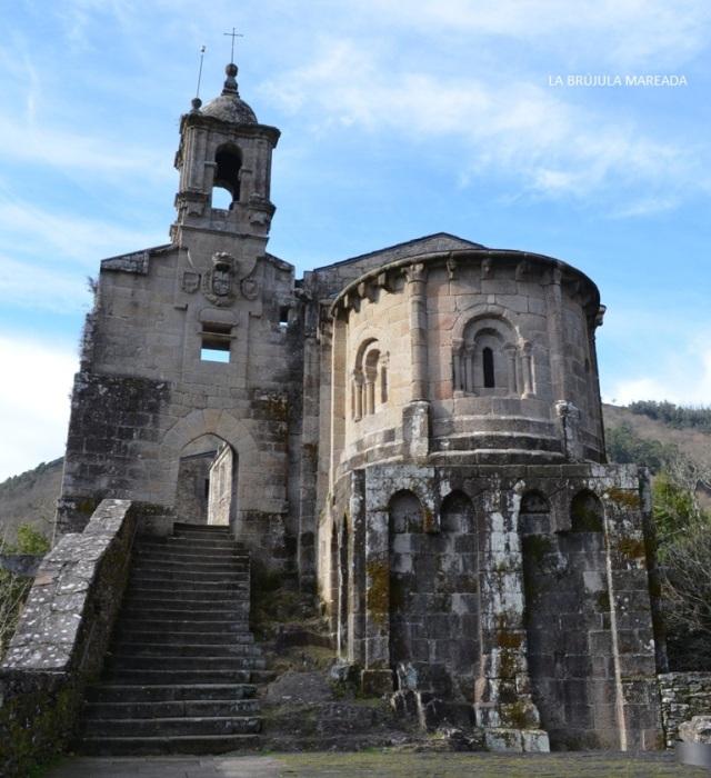 Monasterio de Caaveiro. Fragas do Eume.