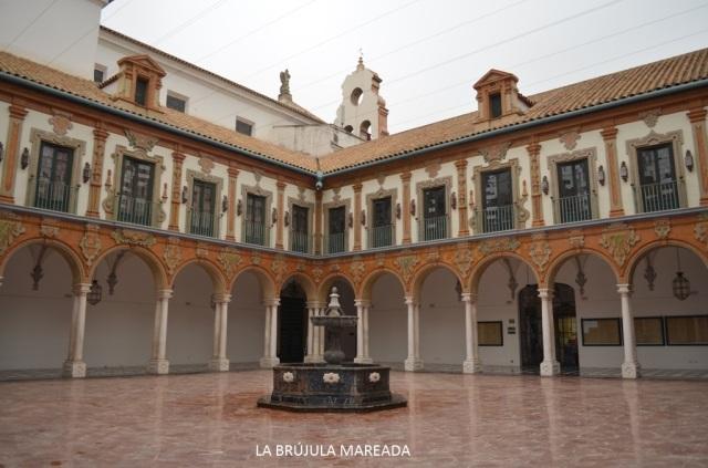 Palacio de la Merced, sede de la Diputación Provincial de Córdoba.