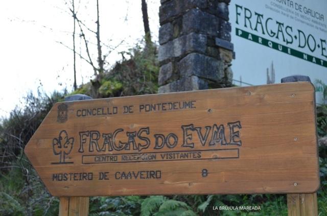 Entrando en las Fragas do Eume desde Pontedeume.