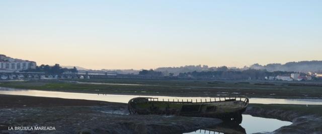 Pontedeume. Marea baja. (A Coruña)