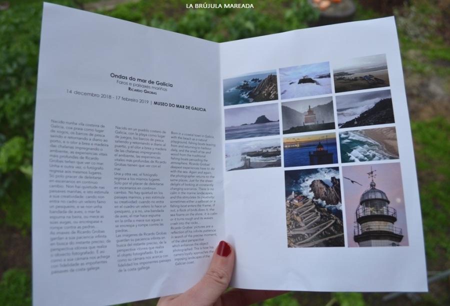 Exposición faros ondas mar de Galicia Ricardo Grobas